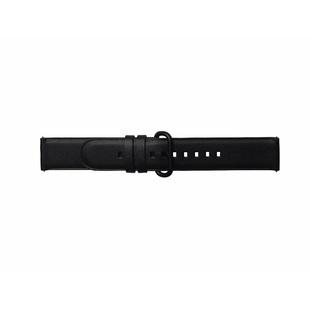 Ремешок для Samsung Galaxy Watch Active (Braloba Strap Studio Active Leather GP-XVR500BRCBW) (черный) - Ремешок для умных часов