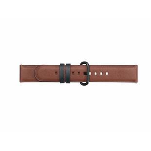Ремешок для Samsung Galaxy Watch Active (Braloba Strap Studio Active Leather Dress GP-XVR500BRDAW) (коричневый) - Ремешок для умных часов