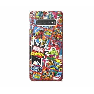 Чехол-накладка для Samsung Galaxy S10 Plus (Marvel Case GP-G975HIFGHWH) (красный) - Чехол для телефонаЧехлы для мобильных телефонов<br>Чехол плотно облегает корпус и гарантирует надежную защиту от царапин и потертостей.
