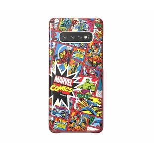 Чехол-накладка для Samsung Galaxy S10 (Marvel Case GP-G973HIFGKWH) (красный) - Чехол для телефонаЧехлы для мобильных телефонов<br>Чехол плотно облегает корпус и гарантирует надежную защиту от царапин и потертостей.