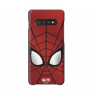Чехол-накладка для Samsung Galaxy S10 (Marvel Case GP-G973HIFGKWD) (красный) - Чехол для телефонаЧехлы для мобильных телефонов<br>Чехол плотно облегает корпус и гарантирует надежную защиту от царапин и потертостей.