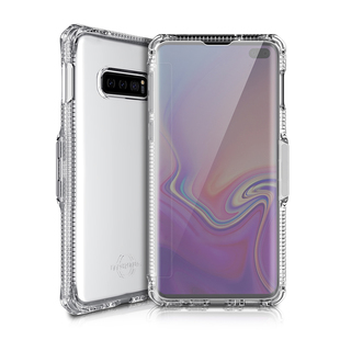 Чехол-книжка для Samsung Galaxy S10e (ITSKINS SPECTRUM VISION SGSL-SPVSN-TRSP) (прозрачный) - Чехол для телефона
