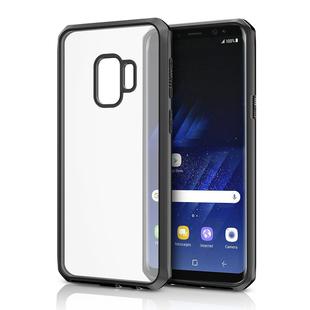 Чехол-накладка для Samsung Galaxy S9 (ITSKINS HYBRID EDGE SGS9-VNRLD-BKPI) (черный) - Чехол для телефонаЧехлы для мобильных телефонов<br>Чехол плотно облегает корпус и гарантирует надежную защиту от царапин и потертостей.