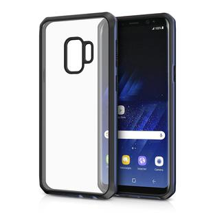 Чехол-накладка для Samsung Galaxy S9 (ITSKINS HYBRID EDGE SGS9-VNRLD-CRBK) (черно-синий) - Чехол для телефона
