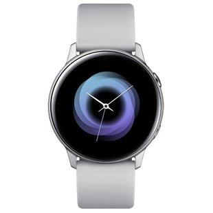 Samsung Galaxy Watch Active (серебристый) - Умные часы, браслет