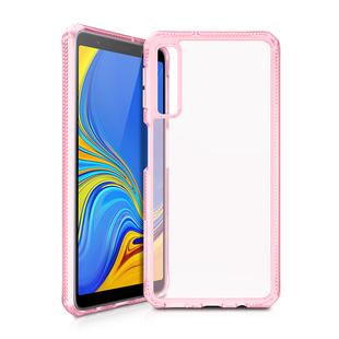 Чехол-накладка для Samsung Galaxy A7 2018 (ITSKINS HYBRID MKII SG70-HYBMK-LKTR) (розовый) - Чехол для телефонаЧехлы для мобильных телефонов<br>Чехол плотно облегает корпус и гарантирует надежную защиту от царапин и потертостей.