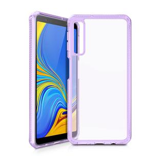 Чехол-накладка для Samsung Galaxy A7 2018 (ITSKINS HYBRID MKII SG70-HYBMK-LPTR) (сиреневый) - Чехол для телефонаЧехлы для мобильных телефонов<br>Чехол плотно облегает корпус и гарантирует надежную защиту от царапин и потертостей.