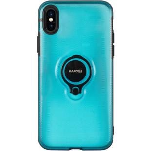 Чехол накладка для Apple iPhone Х (Hardiz Crystal Case HRD809102) (голубой) - Чехол для телефона