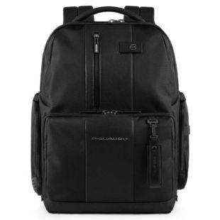 Рюкзак Piquadro Brief CA4443BR/N (черный) - Сумка для ноутбука (PIQUADRO) Темников аксессуары для компьютеров