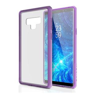 Чехол-накладка для Samsung Galaxy Note 9 (ITSKINS HYBRID MKII SGN9-HYBMK-LPTR) (сиреневый) - Чехол для телефонаЧехлы для мобильных телефонов<br>Чехол плотно облегает корпус и гарантирует надежную защиту от царапин и потертостей.