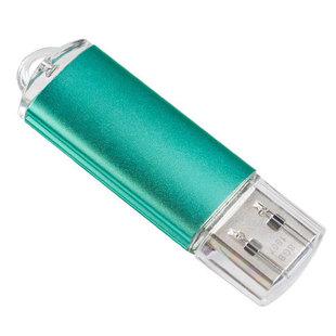 Perfeo E01 16GB (зеленый) - USB Flash driveUSB Flash drive<br>USB-накопитель, объем 16Гб, тип USB 2.0, материал: пластик, съёмный колпачок.