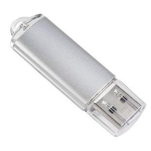 Perfeo E01 16GB (серебристый) - USB Flash driveUSB Flash drive<br>USB-накопитель, объем 16Гб, тип USB 2.0, материал: пластик, съёмный колпачок.