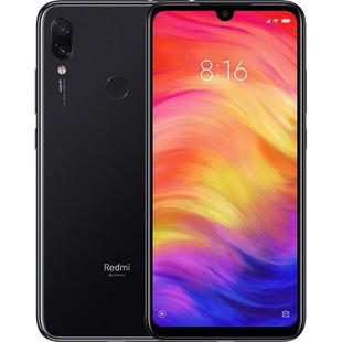 Xiaomi Redmi Note 7 4/64GB (черный) - Мобильный телефонМобильные телефоны<br>Смартфон Redmi Note 7 4/64GB - тип: смартфон, линейка: Redmi Note, android, диагональ экрана: 6quot; и больше, разрешение экрана: 2340?1080, 4G LTE, 2 SIM-карты, память: 64 Гб, слот для карты памяти, оперативная память: 4 Гб, емкость аккумулятора: 3500-4499 мА?ч, количество основных камер: 2, год анонсирования: 2019