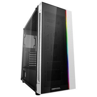 Компьютерный корпус Deepcool Matrexx 55 ADD-RGB White - КорпусКорпуса<br>Компьютерный корпус Deepcool Matrexx 55 ADD-RGB White - ATX, mATX, EATX, Mini-ITX, Midi-Tower, сталь, без блока питания, 3xUSB на лицевой панели, 210x480x440 мм, 7 кг, цвет: белый
