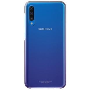 Чехол-накладка для Samsung Galaxy A50 (EF-AA505CVEGRU) (фиолетовый) - Чехол для телефонаЧехлы для мобильных телефонов<br>Чехол плотно облегает корпус и гарантирует надежную защиту от царапин и потертостей.