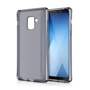 Чехол-накладка для Samsung Galaxy A8 Plus 2018 (ITSKINS SG8P-SPECM-BLCK) (черный) - Чехол для телефонаЧехлы для мобильных телефонов<br>Чехол плотно облегает корпус и гарантирует надежную защиту от царапин и потертостей.