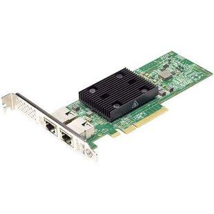 Dell 540-BBVM-1 - Сетевая картаСетевые карты и адаптеры<br>Низкопрофильная сетевая карта Broadcom 57416, 2x 10GBase-T RJ-45, для серверов EMC PowerEdge C6420, R640, R740, R740xd.