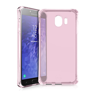 Чехол-накладка для Samsung Galaxy J4 2018 (ITSKINS SGJ4-SPECM-LPNK) (розовый) - Чехол для телефонаЧехлы для мобильных телефонов<br>Чехол плотно облегает корпус и гарантирует надежную защиту от царапин и потертостей.