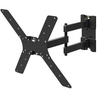 Кронштейн для телевизоров 32-55 (Holder LCD-5566-B) (черный) - Подставка, кронштейнПодставки и кронштейны<br>Кронштейн для телевизора Holder LCD-5566-B черный, 32quot;-55quot;, макс.45кг, настенный, поворотно-выдвижной и наклонный.
