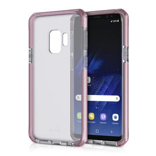 Чехол-накладка для Samsung Galaxy S9 Plus (ITSKINS SG9P-SPRFR-BPBK) (розовый) - Чехол для телефонаЧехлы для мобильных телефонов<br>Чехол плотно облегает корпус и гарантирует надежную защиту от царапин и потертостей.