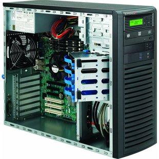 SuperMicro CSE-732D3-903B - КорпусКорпуса<br>ATX, mATX, EATX, Midi-Tower, блок питания 900 Вт, 2x USB 3.0 на лицевой панели, 193x424x525 мм.