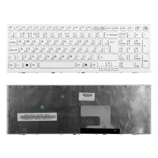 Клавиатура для ноутбука Sony VPC-EH (KB-101130) (белый) - Клавиатура для ноутбука