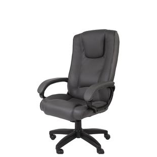 Офисное кресло РК 100 PU (серый) - Стул офисный, компьютерныйКомпьютерные кресла<br>Офисное кресло, 120 кг, искусственная кожа, газлифт, механизм качания.