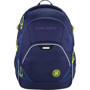 Рюкзак Coocazoo EvverClevver2 Seaman (синий) - Ранец, рюкзак, сумка, папкаРюкзаки и ранцы для школы<br>Рюкзак для школы, спорта и отдыха. Дышащая подкладка на спинке. Два больших кармана для бумаг и книг форматом А4. Отделение для ноутбука диагональю до 15,6 дюйма. Внешний карман на молнии для канцелярских принадлежностей и с карабином для ключей. Два боковых сетчатых кармана. Потайной карман сзади.