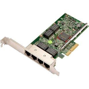 Lenovo 7ZT7A00484 - Сетевая картаСетевые карты и адаптеры<br>Низкопрофильная сетевая карта Broadcom 5719, 4 порта RJ-45 1Гбит/с, интерфейс: PCI-E x4.