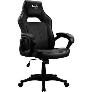 Кресло Aerocool AC40C AIR (черный) - Стул офисный, компьютерныйКомпьютерные кресла<br>Кресло для геймера Aerocool AC40C AIR All Black, черное, до 150 кг, ШxДxВ : 64x67x111-119см, газлифт класс 3 до 100 мм, механизм quot;Бабочкаquot;.
