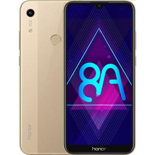 Huawei Honor 8A 32Gb (золотистый) - Мобильный телефонМобильные телефоны<br>Смартфон Honor 8A - тип: смартфон, android, диагональ экрана: 6quot; и больше, разрешение экрана: 1560x720, 4G LTE, 2 SIM-карты, память: 32 Гб, слот для карты памяти, оперативная память: 2 Гб, емкость аккумулятора: 3000-3499 мА?ч, NFC, количество основных камер: 1, год анонсирования: 2019