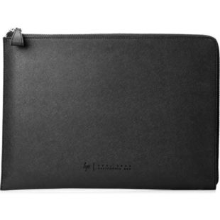 Чехол для ноутбука 13.3 (HP Spectre Sleeve 1PD69AA) - Чехол для ноутбукаЧехлы для ноутбуков<br>Благодаря элегантной фактурной отделке из натуральной кожи, металлическим акцентам и мягкой внутренней поверхности из микро-замши этот чехол для ноутбука делает повседневную защиту стильной.