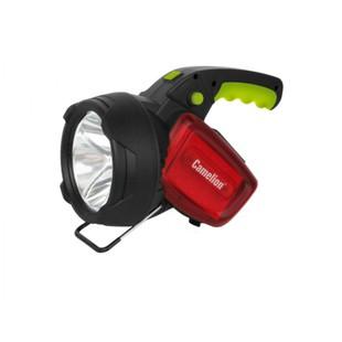 Camelion LED56334 - ФонарьФонари<br>Camelion LED56334 - фонарь аккумуляторный, карбон, 3W CREE+12LED+12redLED, 5В, 4А-ч, пластик.