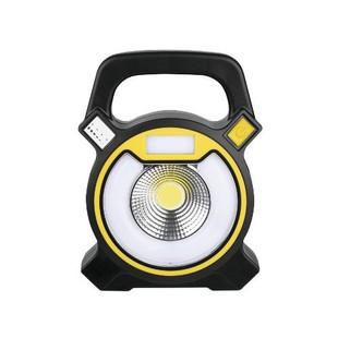 Camelion LED5631 - ФонарьФонари<br>Фонарь Camelion электрический аккумуляторный светодиодный кемпинговый. Цвет корпуса - черный. Материал корпуса: ABS - пластик. Источники света: COB - светодиод мощностью 3 Ватта с цветовой температурой 6500К и максимальным суммарным световым потоком 300 люмен - в отражателе и 12SMD - светодиодов с суммарной мощностью 3 ватта с цветовой температурой 7500К с максимальным световым потоком 250 люмен в кольцевом плафоне.