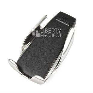 Универсальный автомобильный держатель TOTU CACW-029 (черный) - Автомобильный держатель для телефонаАвтомобильные держатели для мобильных телефонов<br>Умный датчик реагирует на приближение смартфона и самостоятельно раздвигает держатель, умная система безопасности предотвратит перегрев, перезарядку и возможные скачки напряжения, стильный современный дизайн с изящными линиями и красивым металлическим цветом, дистанция беспроводной зарядки: 8 мм, ИК-сенсор, мощность: 10 Вт (Макс), крепление.
