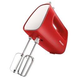Philips HR1552 (красный, белый) - МиксерМиксеры<br>Philips HR1552 - ручной, 170 Вт, 5 скоростей.