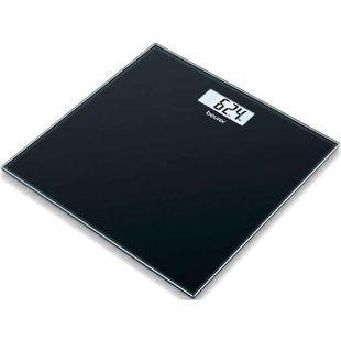 Beurer GS 10 (черный) - Напольные весыНапольные весы<br>Beurer GS 10 - электронные, стеклянная платформа, нагрузка до 180 кг, очень точное измерение, автовключение, автовыключение.