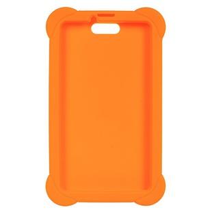 Чехол-накладка для Digma Plane 7556 (оранжевый) - Чехол для планшетаЧехлы для планшетов<br>Чехол плотно облегает корпус и гарантирует надежную защиту от царапин и потертостей.