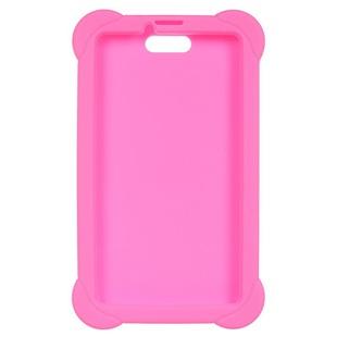 Чехол-накладка для Digma Plane 7556 (розовый) - Чехол для планшетаЧехлы для планшетов<br>Чехол плотно облегает корпус и гарантирует надежную защиту от царапин и потертостей.