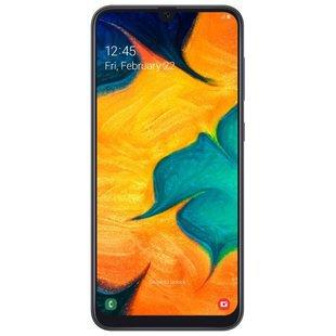 Samsung Galaxy A30 64GB (черный) - Мобильный телефон
