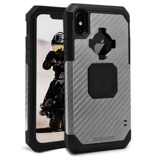Чехол накладка для Apple iPhone XS Max (Rokform 305143P) (темно-серый) - Чехол для телефонаЧехлы для мобильных телефонов<br>Чехол плотно облегает корпус и гарантирует надежную защиту от царапин и потертостей.