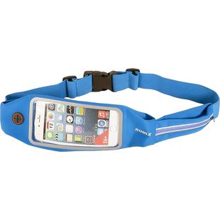 Спортивный чехол на пояс для смартфонов 4.7 (Romix Touch Screen Waist Bag RH16-4.7BLU) (голубой) - Универсальный чехол для телефонаУниверсальные чехлы для мобильных телефонов<br>Romix Touch Screen Waist Bag RH16 представляет собой стильную, функциональную спортивную сумку-чехол на пояс для смартфонов с диагональю экрана 4.7 дюймов. Она выполнена из прочной ткани и обеспечивает качественную защиту телефона от загрязнений. Защитный экран позволяет в полной мере использовать сенсор коммуникатора, что исключает необходимость постоянного изъятия гаджета из чехла. Аксессуар отлично подойдет для занятий спортом или прогулок на свежем воздухе.