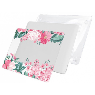 Чехол накладка для Apple Macbook Pro 13 A1706, A1708 (i-Blason Cover Pink Floral) - Чехол для ноутбукаЧехлы для ноутбуков<br>i-Blason Cover представляет собой ультратонкий и прочный чехол-накладку для MacBook Pro 13 A1706/A1708. Он состоит из верхней и нижней накладки. Аксессуар обеспечит отличную защиту ноутбука от загрязнений и механических повреждений при транспортировке.