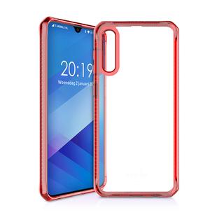 Чехол-накладка для Samsung Galaxy A70 (ITSKINS SG07-HBMKC-RATR) (красный) - Чехол для телефонаЧехлы для мобильных телефонов<br>Чехол плотно облегает корпус и гарантирует надежную защиту от царапин и потертостей.