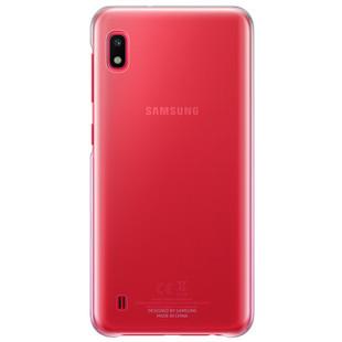 Чехол-накладка для Samsung Galaxy A10 (Gradation EF-AA105CPEGRU) (розовый) - Чехол для телефонаЧехлы для мобильных телефонов<br>Чехол плотно облегает корпус и гарантирует надежную защиту от царапин и потертостей.