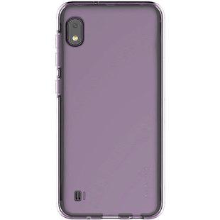 Чехол-накладка для Samsung Galaxy A10 (Araree GP-FPA105KDAER) (фиолетовый) - Чехол для телефонаЧехлы для мобильных телефонов<br>Чехол плотно облегает корпус и гарантирует надежную защиту от царапин и потертостей.