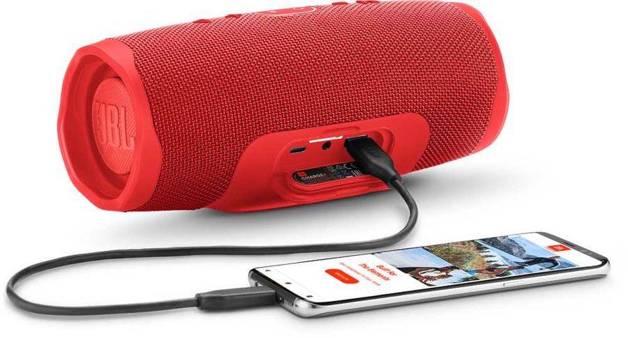 JBL Charge 4 + JBL T110BT (красный, синий)