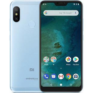 Xiaomi Mi A2 Lite 4/64GB (синий) - Мобильный телефонМобильные телефоны<br>Смартфон Xiaomi Mi A2 Lite 4/64GB - GSM, LTE, смартфон, Android, вес 178 г, ШхВхТ 71.68x149.33x8.75 мм, экран 5.84quot;, 2280x1080, Bluetooth, Wi-Fi, GPS, ГЛОНАСС, фотокамера 12 МП, память 64 Гб, аккумулятор 4000 мА?ч