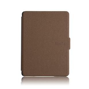 Чехол-книжка для Amazon Kindle 10 2019 (Ultra Slim AK10-US01) (коричневый) - Чехол для электронной книгиЧехлы для электронных книг<br>Чехол обеспечит защиту от царапин, потертостей и других нежелательных внешних воздействий.