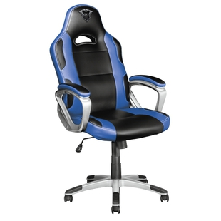 игровое кресло trust gxt 705b ryon gaming chair blue (23204)